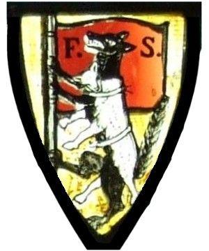 Fabian stained glass window: wolf in sheepskin