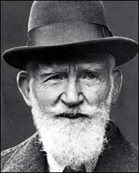 a look at george bernard shaw and the fabian society George bernard shaw (26 july 1856 – 2 november 1950), known at his insistence simply as bernard shaw, was an irish playwright, critic, polemicist, and political activist his influence on western theatre, culture and politics extended from the 1880s to his death and beyond.
