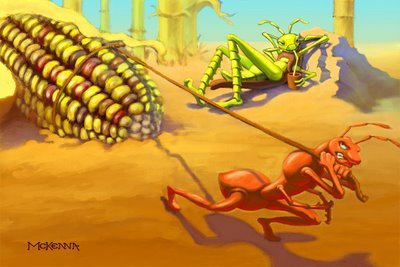 The Ants & The Grasshoppers ??? | 2012 Patriot
