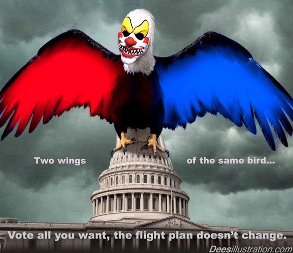 two headed political monster