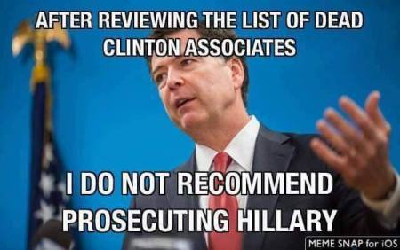 clinton james comey fbi hillary