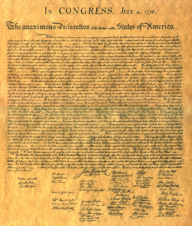 The Declaration of Ind...