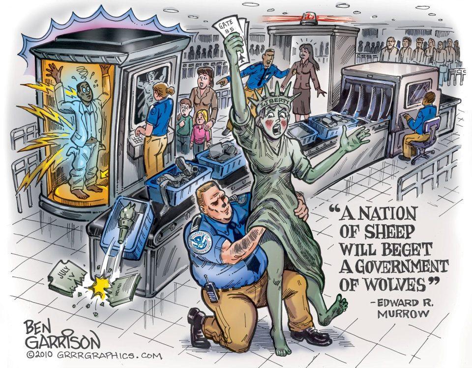 Tsa Dhs 4th Amendment Sexual Assaults Violations 2012 Patriot