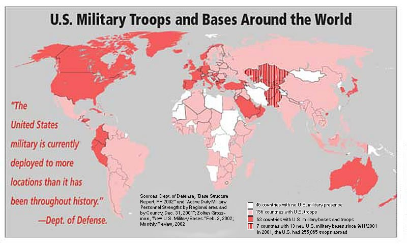 USA Military Bases Around the World ! | 2012 Patriot