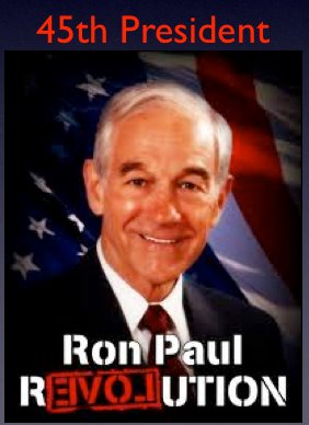 ron paul saving America