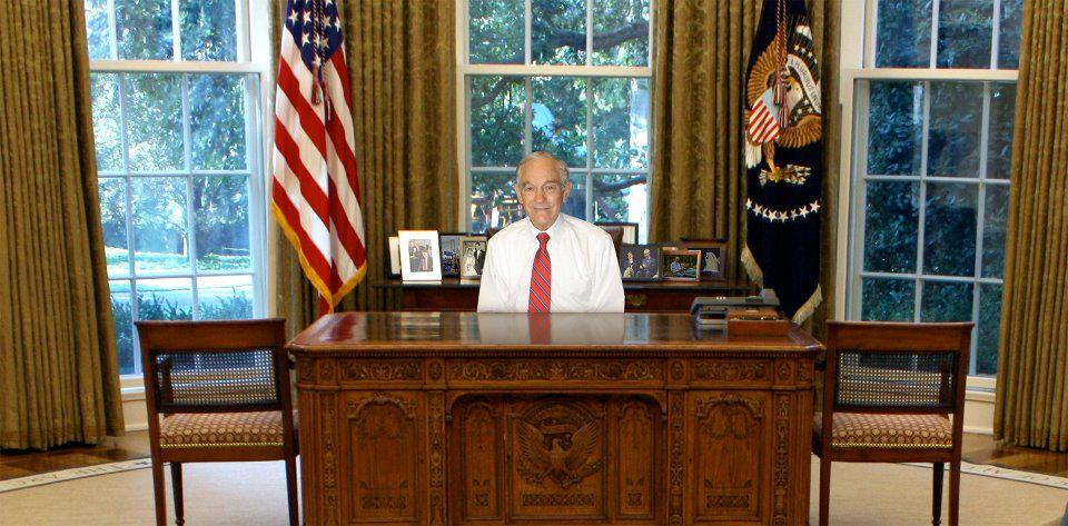 Ron paul 2012 posters teapartywpbfl - Oval office desk ...