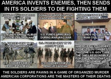 Military Industrial Complex wars