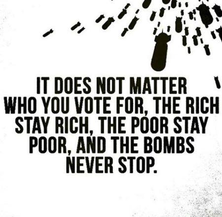 rich poor bombs