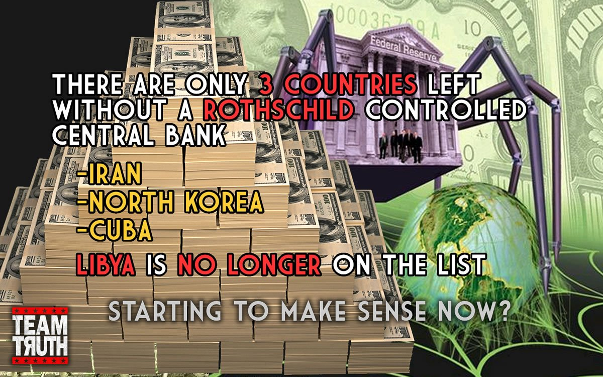 ROTHSCHILD CENTRAL BANK COUNTRIES | TeaPartyWPBFL