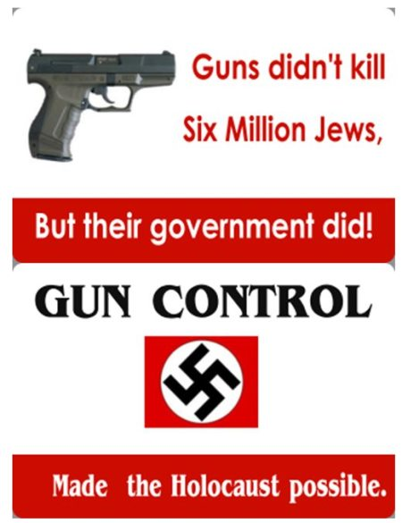 2A guns nra goa holocaust jews democide genocide
