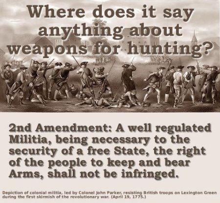 2a Guns NRA GOA hunting