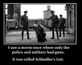 2a Guns NRA GOA Schindler's List