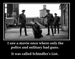 2a Guns NRA GOA Schindler's List