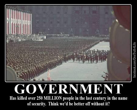 government killed 250 million past century