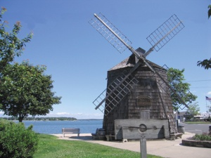 Sag Harbor windmill shackle