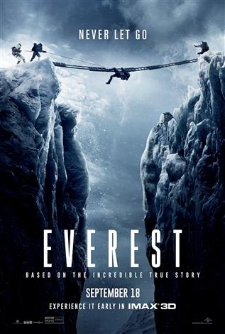 Everest movie 2016 jake gyllenhaal