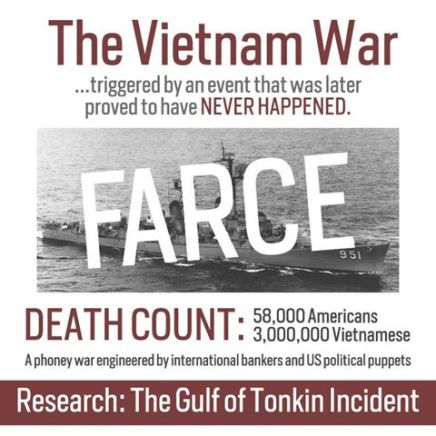Image result for gulf of tonkin incident false flag