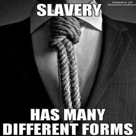 necktie slave