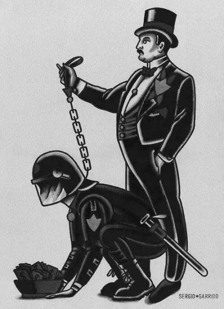 police state extortion puppet masters