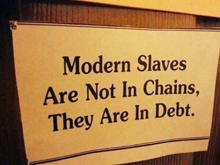 slaves debt chains