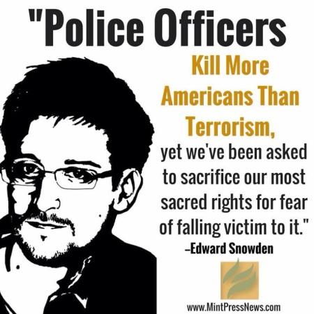 Snowden police