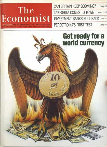 theeconomist-phoenix_get_ready_for_world_currency_by_2018 Rothschild owned 1988 cover