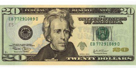 andrew jackson FRN $20