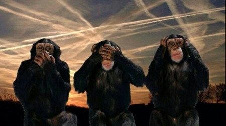 chemtrails hear no see no speak no evil