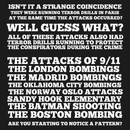 false flag list