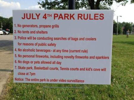 Freedom July 4th Parks