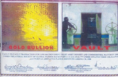 KH Gold bullion