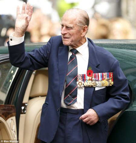 prince philip medal suit