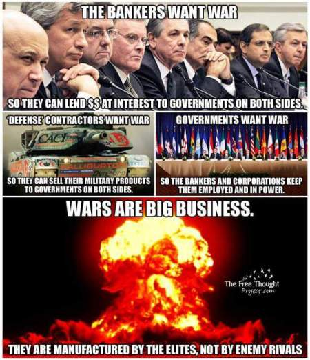 wars bankers contractors government