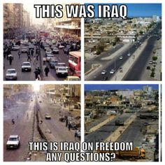 iraq before after 2
