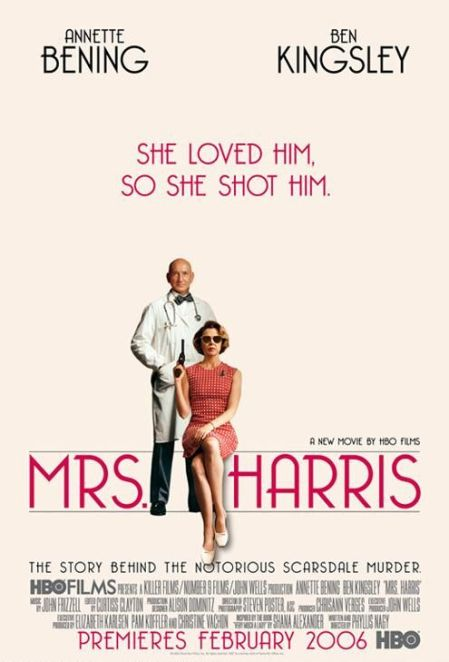 mrs harris poster hbo films