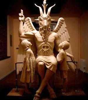 satan statue detroit